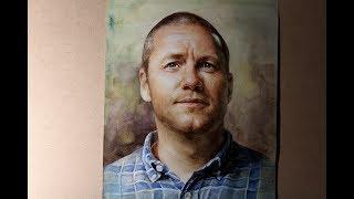 Download 얼굴그리기 인물수채화22 Watercolor Portrait Painting 22 Video