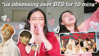 Download OUR REACTION TO: BTS ″BOY WITH LUV″ FT. HALSEY MV Video