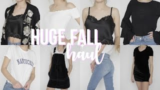 Download HUGE Fall Try On Haul 2016! Video