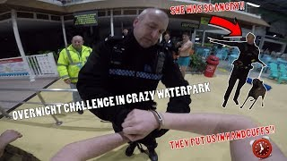 Download IT ALL WENT WRONG!! ANGRY POLICE TURNED UP WITH DOGS ON OVERNIGHT CHALLENGE Video