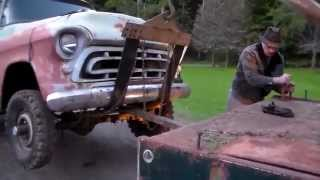 Download Classic Truck Rescue 1957 Chevy 4x4 Tow Video