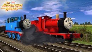 Download RUNAWAY James! | The Adventure Begins | Thomas & Friends | Scene Remake Video
