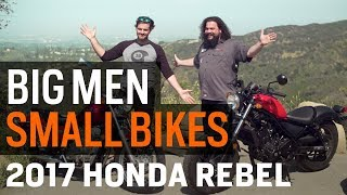 Download Big Men, Small Bikes - The Honda Rebel From Then to Now at RevZilla Video