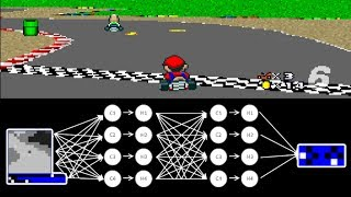 Download MariFlow - Self-Driving Mario Kart w/Recurrent Neural Network Video