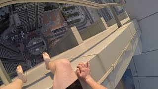 Download SNEAKING INTO ROOFTOP POOL IN DUBAI! Video