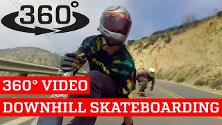 Download Awesome Downhill Skateboarding VR (360° Video!) Video