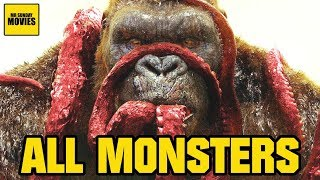 Download All Monsters In The Godzilla & Kong Monsterverse Video