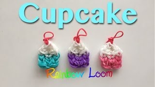 Download EASY Rainbow Loom Cupcake Charms Video