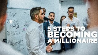 Download 5 Steps to Becoming a Millionaire - Grant Cardone Trains His Sales Team LIVE Video