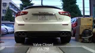 Download Ghibli SQ4 Muffler with Bertocchi Center Pipes Video