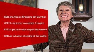 Download SBB.ch: Alles zu Shopping am Bahnhof. CFF.ch: tout pour vos achats à la gare. Video