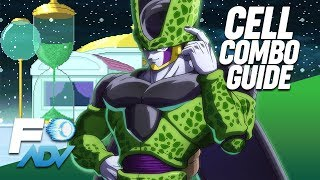 Download Cell Combos Basic to Advanced - Touch of Death! - Dragon Ball FighterZ Video