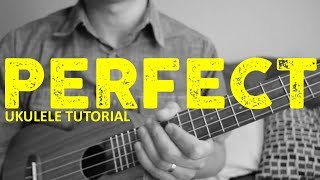 Download Perfect - Ed Sheeran - EASY Ukulele Tutorial - Chords - How To Play Video
