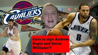 Download Cavaliers Frontrunners to sign Deron Williams and Andrew Bogut Video