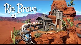 Download 🌵 Let's build a weenie | McFly 1885 | Rio Bravo | Planet Coaster (western) | Ep. 1 Video