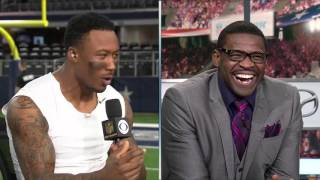 Download Brandon Marshall does his best Michael Irvin impersonation | Jets vs. Cowboys | NFL Video