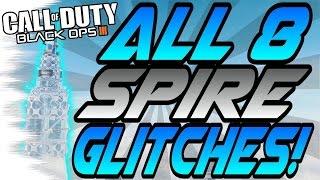 Download *NEW* ALL 8 SPIRE Glitches! - Wallbreaches, High Ledges (BO3 Eclipse DLC Glitch) Video
