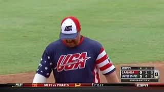 Download slo-pitch 2013 USA vs Canada Video