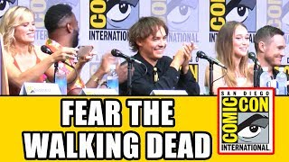 Download FEAR THE WALKING DEAD Comic Con 2017 Panel - Season 3, News & Highlights Video