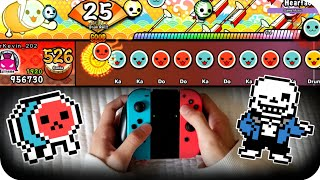 Download Full Combo on every Undertale song【Taiko no Tatsujin Switch Ver.】 Video