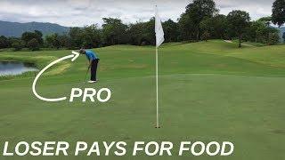 Download PRO GOLFER VS PRO GOLFER (LOSER PAYS FOR DINNER) Video