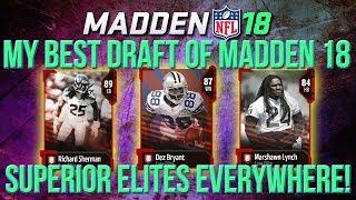 Download Madden 18 Draft Champions :: My BEST Draft This Year! Elite Superstars!! Madden NFL 18 Full Draft Video