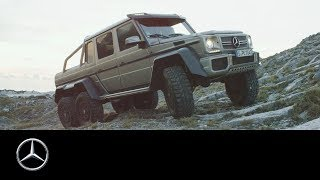 Download Mercedes-Benz G 63 AMG 6x6:The Super-Offroader G 63 AMG 6x6 Video