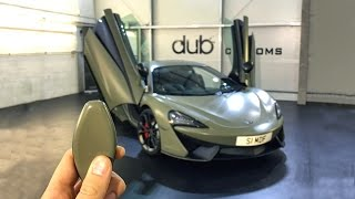 Download Wrapping My McLaren Satin Khaki Green Video