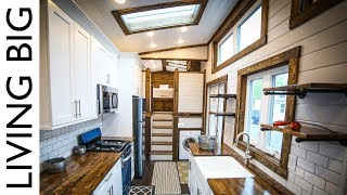 Download This 40ft Tiny House is a Mansion On Wheels Video
