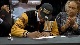 Download NSD 2016: Wenonah's Quinnen Williams signs with Alabama Video