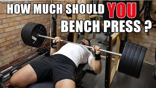 Download WHAT SHOULD THE AVERAGE PERSON BE ABLE TO BENCH PRESS? Video