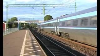 Download X2-tåg passerar Sävsjö 2005 Video