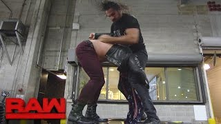 Download Seth Rollins ambushes Chris Jericho in the parking lot: Raw, Nov. 28, 2016 Video