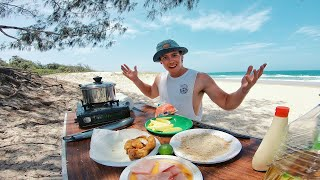 Download EP 3 - Catch n Fry - Yellowtail KINGFISH! Fish n Chips Recipe (Clearest Water Ever) Video