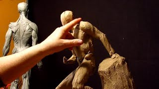 Download Removing the Armature's Support and Working on the Right Arm Video