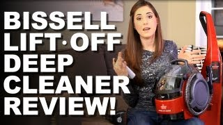 Download Bissell Lift-Off Deep Cleaning System Review! Helpful Home Cleaning Ideas (Clean My Space) Video