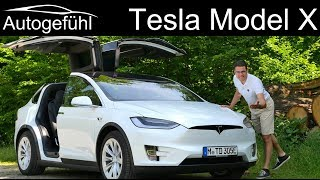 Download The Tesla Model X FULL REVIEW 100D shows why this is the best car for show-off - Autogefühl Video