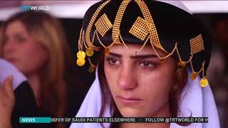 Download Iraq's Yazidis mark ″genocide″ anniversary Video