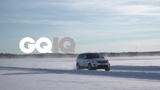 Download GQ IQ: Driving Jaguar And Range Rovers In The Snow Really Fast Video