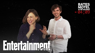 Download Bates Motel: Freddie Highmore Explains The Show In 30 Seconds   Entertainment Weekly Video