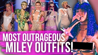 Download 10 Most OUTRAGEOUS Miley Outfits Ever! (Dirty Laundry) Video