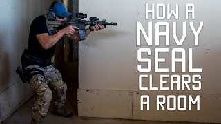Download How a Navy SEAL Clears a Room | Close Quarters Combat CQC | Tactical Rifleman Video