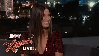 Download Sandra Bullock Teaches Jimmy Kimmel German Video