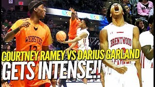 Download Point God Darius Garland vs Courtney Ramey Gets INTENSE at Bass Pro ToC!! Video