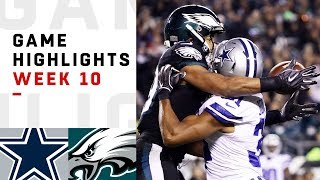 Download Cowboys vs. Eagles Week 10 Highlights | NFL 2018 Video