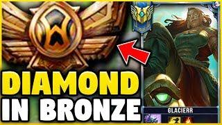 Download I TOOK MY ILLAOI INTO BRONZE 5! DIAMOND ILLAOI MAIN VS BRONZE ELO! - League of Legends Video