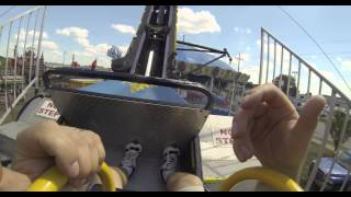 Download Ring of Fire Midway Carnival Ride with GoPro Hero3 Black Edition Camera Video