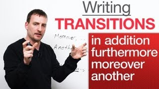 Download Writing - Transitions - in addition, moreover, furthermore, another Video