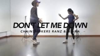 Download The Chainsmokers - Don't Let Me Down Dance Choreography | Ranz & Niana Video