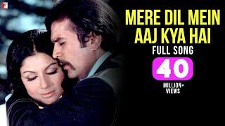 Download Mere Dil Mein Aaj Kya Hai - Full Song HD | Daag | Rajesh Khanna | Sharmila Tagore | Kishore Kumar Video